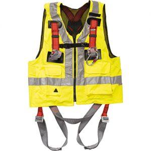 FP5406 - Full Body Safety Harness with Hi-Viz Vest-0