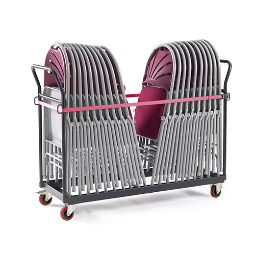 Upright Chair Platform Trolley-0