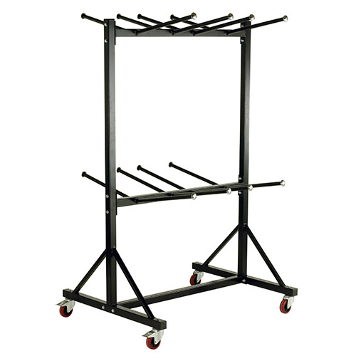 Hanging Chair Storage Trolley with 2 Decks-236