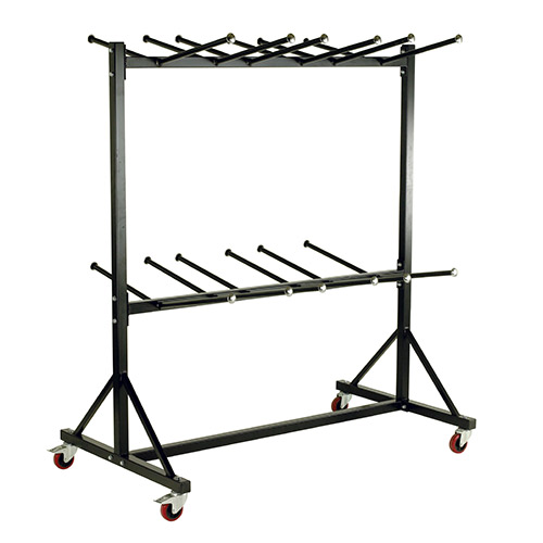 Hanging Chair Storage Trolley with 2 Decks-238