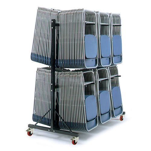 Hanging Chair Storage Trolley with 2 Decks-237