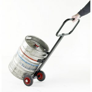 Beer Keg Trolley with Solid Wheels