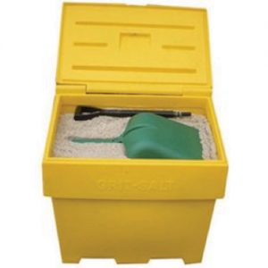Grit Bin supplied full and FREE Show Shovel-0