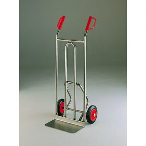 Stainless Steel Sack Truck with Solid Wheels-0