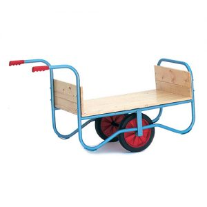Garden Centre Trolley with Grip Handles-0