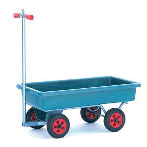 Horticultural Turntable Trolley Plastic Tub Platform -0