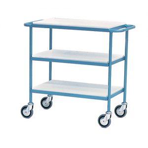 Shelf Trolley with Steel Trays-0
