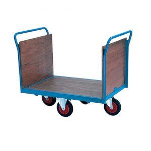 Heavy Duty Trolley Easy Steering Platform Trolley Truck-0