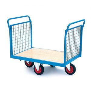 Heavy Duty Trolley Easy Steer Platform Trolley Truck-0