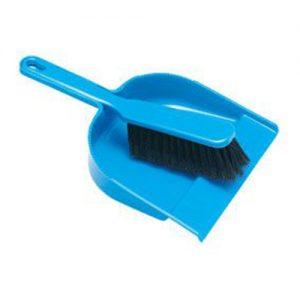 BR0101 - Plastic Dustpan & Brush Set-0