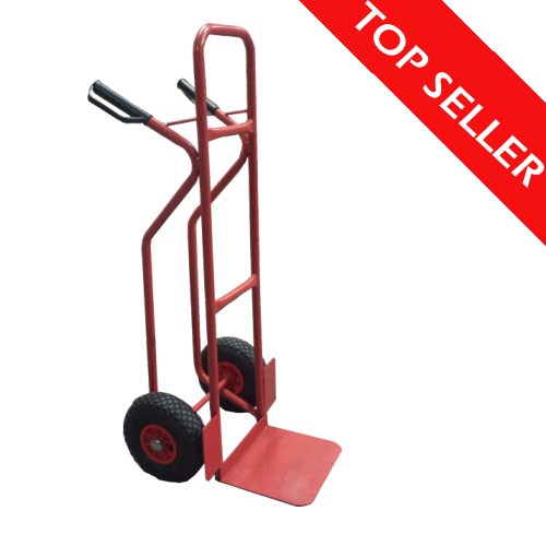 Double Handle Sack Truck with Stair Sliders-0