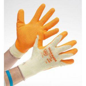 GL77604 - Orange Latex Gloves-0
