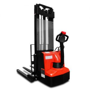 Straddle Electric Stacker-0