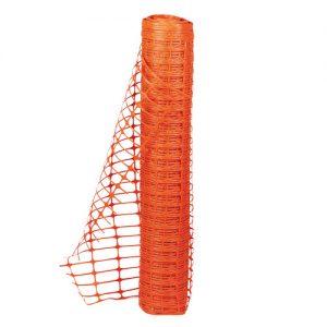 Orange Mesh Fencing-0