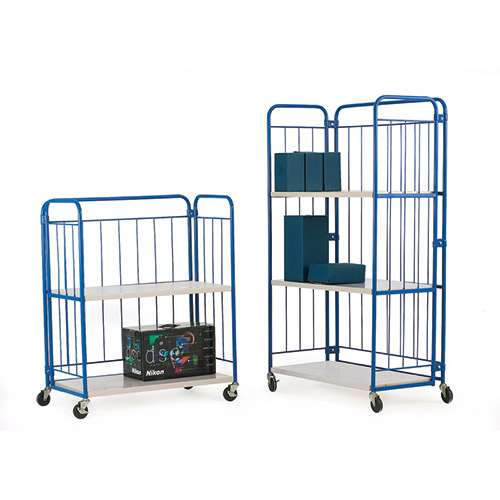 Folding Shelf Cage Trolley-1133