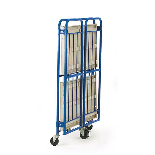 Folding Shelf Cage Trolley-1134