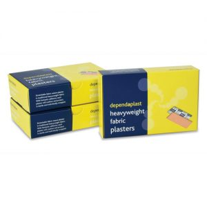 Fabric Sterile Plasters - Each plaster will cushion and protect, is sterile and individually wrapped-0