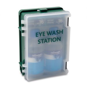 Eye Wash Station Double - Wall mounted Station-0