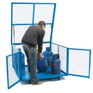 Security Cage with Lift Up Lid-0
