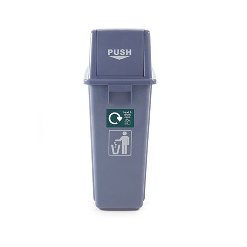 WB0985 - Recycling Bins, Set of 3 supplied with 5 identification stickers-1159