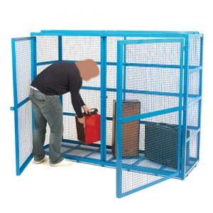 Security Cages, ideal for safe storage of cylinders-0