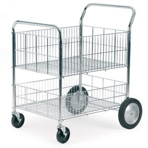 Chrome Plated Wire Trolley-0