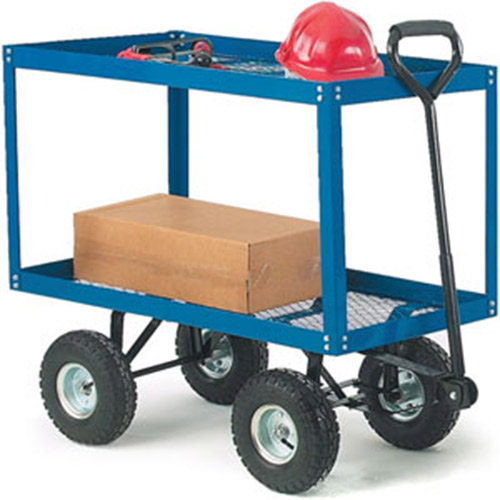 Two Tray Platform Turntable Truck-0