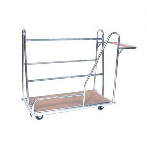 Zinc Plated Panel Trolley -0