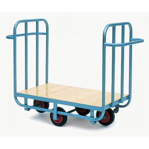 Factory Warehouse Platform Trolley-0