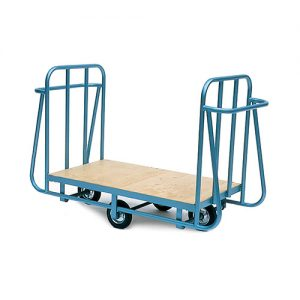 Heavy Duty Platform Trolley with Two Handle Ends-0