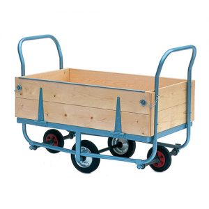 Platform Service Trolley with Hinged Side-0