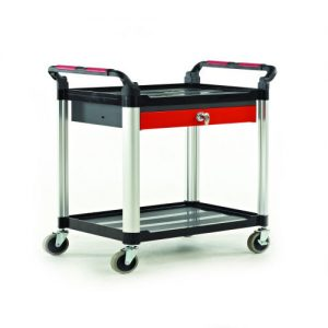 Shelf Trolley with Drawers-0