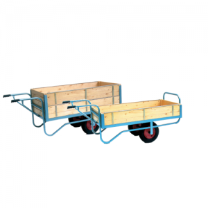 Sturdy Grip Handle Balance Trolley with Sides-0