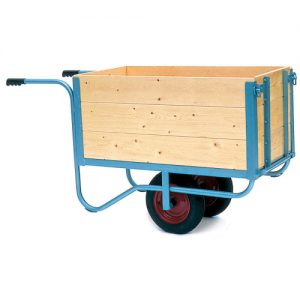 Bulk Trolley with Hinged Door-0
