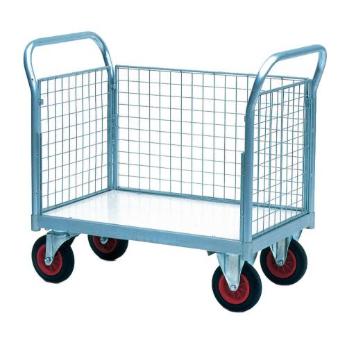 Three Sided Plastic Base Trolley-0