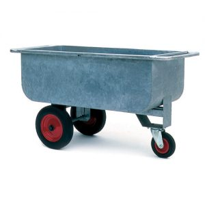 Galvanised Container Trolley-0