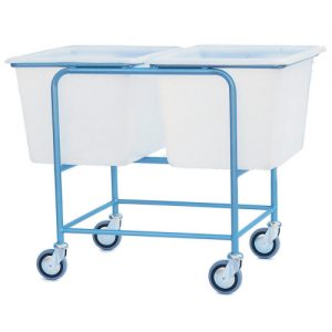 Double Plastic Container Trolley-0