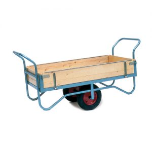 Hinged Two Handle Balance Trolley-0