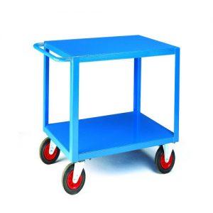 Heavy Duty Table Trucks with Steel Shelves-0