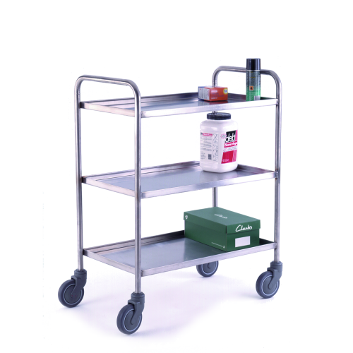 Stainless Steel Tray Trolleys-0