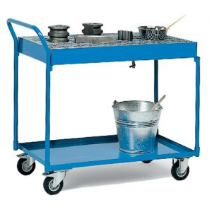 Steel Cart with Drip Tray-0