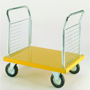 Coloured Platform Truck with Two Handle Ends-0