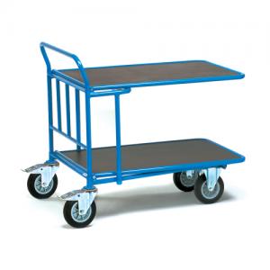 Double Deck Cash & Carry Trolleys-0