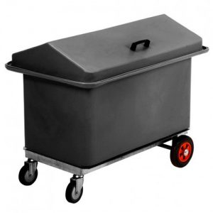 Wheeled Chest with Two Compartments-0