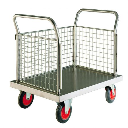 Stainless Steel Platform Trolleys-0