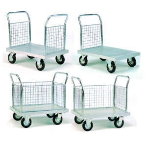 Zinc Plated Platform Trolleys-0