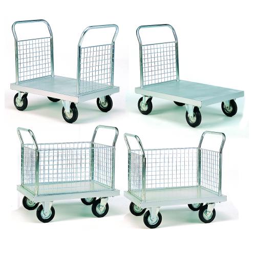 Zinc Plated Platform Trolleys-0
