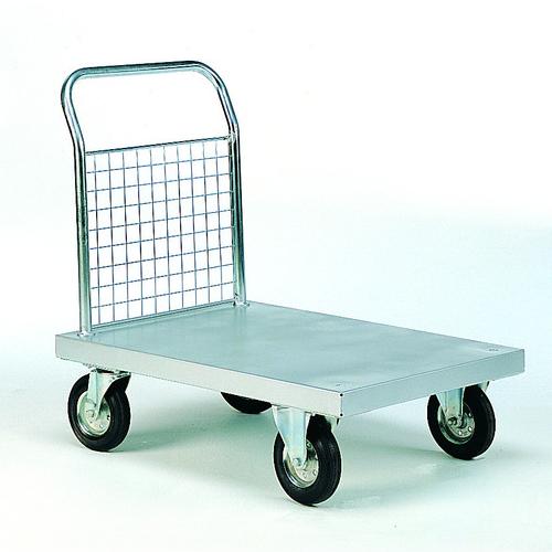 Zinc Plated Platform Trolleys-2014