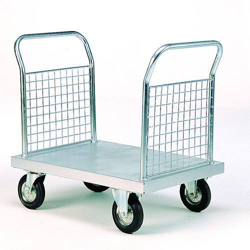 Zinc Plated Platform Trolleys-2017