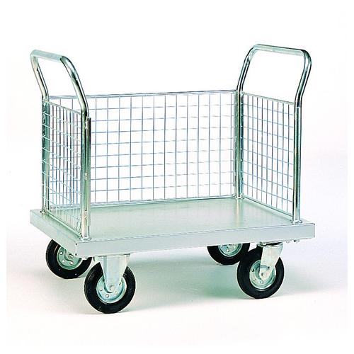 Zinc Plated Platform Trolleys-2016